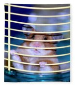 Gangster Hamster Fleece Blanket