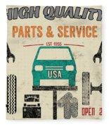 Garage Special-jp3483 Fleece Blanket