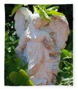 Garden Angel Fleece Blanket