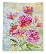 Garden Beauty-jp2957 Fleece Blanket