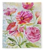 Garden Beauty-jp2957b Fleece Blanket