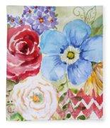 Garden Beauty-jp2958b Fleece Blanket