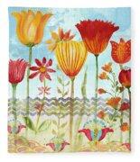 Garden Beauty-jp2960 Fleece Blanket
