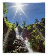 Garden Creek Falls Fleece Blanket
