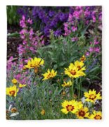 Garden Delight Fleece Blanket