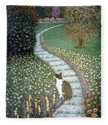 Garden Delights II Fleece Blanket