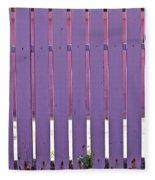 garden Fence Fleece Blanket