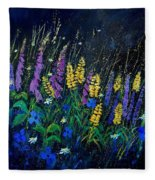 Garden Flowers 679080 Fleece Blanket