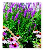 Garden Glory Fleece Blanket