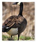 Garden Goose Fleece Blanket