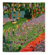 Garden Fleece Blanket