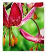 Garden Jewels 1 Fleece Blanket