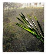 Garden Of Eden Rain Fleece Blanket
