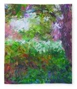 Garden Of Joy Fleece Blanket