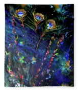 Garden Of The Deep Fleece Blanket