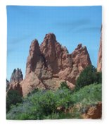 Garden Of The Gods 2 Fleece Blanket
