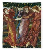 Garden Of The Hesperides Fleece Blanket