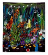 Garden Of Wishes Fleece Blanket