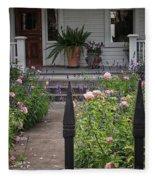 Garden Path Fleece Blanket