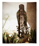 Garden Saint Fleece Blanket