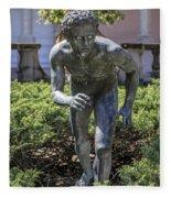 Garden Statue Ringling Museum  Fleece Blanket
