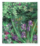 Garden Walk Fleece Blanket