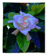 Gardenia Heart Warmth Fleece Blanket