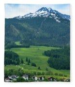Garmisch-partenkirchen Germany Fleece Blanket