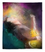 Gary Moore 01 Fleece Blanket