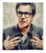 Gary Oldman  Fleece Blanket
