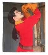 Gaston #1 Fleece Blanket
