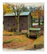 Gastons Mill 2 Fleece Blanket