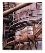Gasworks Park Fleece Blanket
