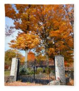 Gate And Driveway Fleece Blanket