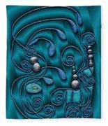 Gate To Atlantis Fleece Blanket