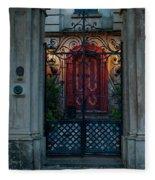 Gates Of Charleston Sc Fleece Blanket