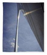 Gateway Arch Opus 4 Fleece Blanket