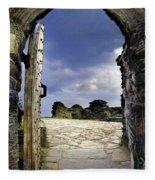 Gateway To The Castle  Fleece Blanket