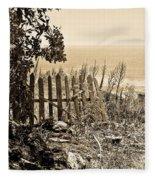 Gateway To The Mediterranean Fleece Blanket