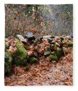 Gather No Moss Fleece Blanket