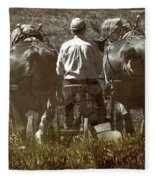 Gathering Dusk Fleece Blanket