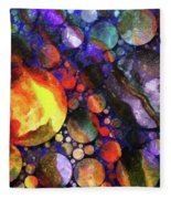 Gathering Of The Planets Fleece Blanket