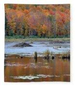 Gatineau Fall Fleece Blanket
