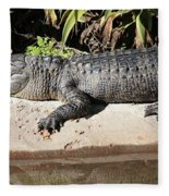 Gator Fleece Blanket