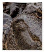Gator Eye Fleece Blanket