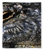 Gator Eye Fleece Blanket