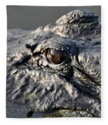 Gator Gaze Fleece Blanket