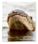 Gator Grin Fleece Blanket