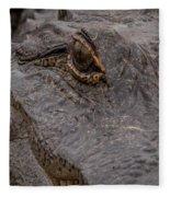 Gators Eye Fleece Blanket