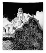 Gaudi House Fleece Blanket